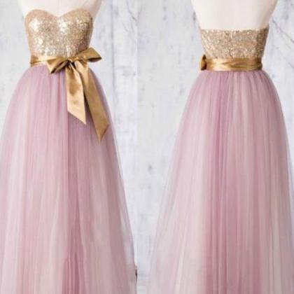 Sequined Bridesmaid Dress, Sweethea..