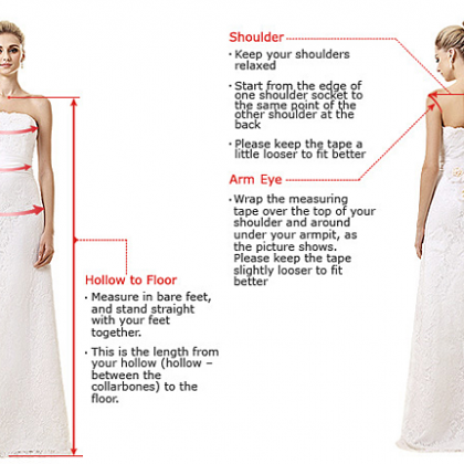Wedding Dress,Charming White Simple..