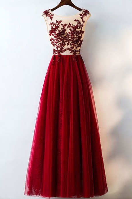 Sexy Appliques Prom Dress,Long Prom Dresses,Cheap Prom Dresses, Evening Dress Prom Gowns, Formal Women Dress,Prom Dress