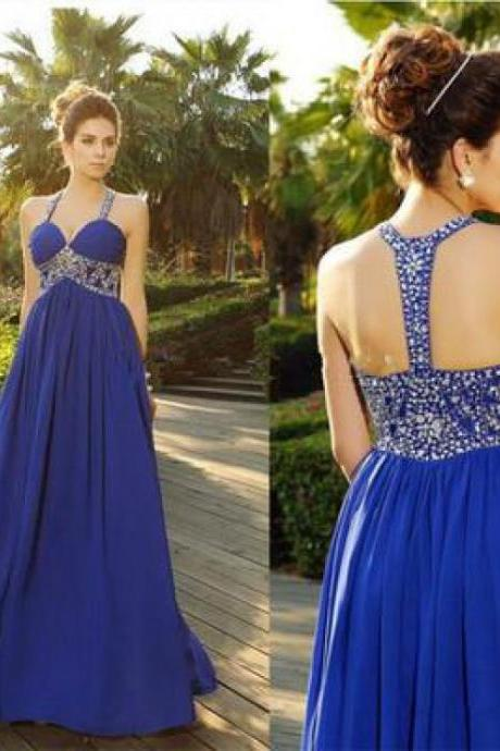 Prom Dresses Long, Prom Dresses Blue, 2018 Prom Dresses,P2026